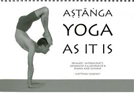ashtanga yoga as it is cover photo